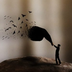 Achraf Baznani Surreal Photography Black birds