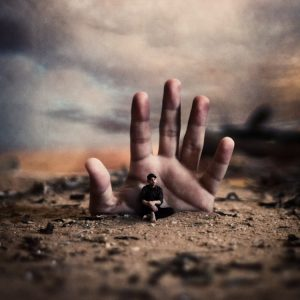 Achraf Baznani Surreal Photography Hand of fate