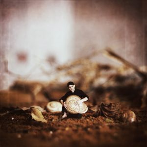 Achraf Baznani Surreal Photography I caught a snail