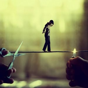 Achraf Baznani Surreal Photography Into the abyss