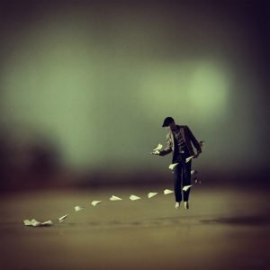 Achraf Baznani Surreal Photography Paperman
