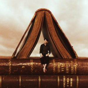 Achraf Baznani Surreal Photography The Reader